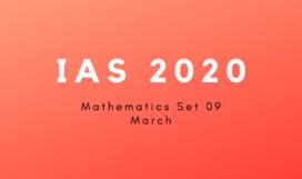 IAS 2020 M9