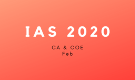IAS 2020 cafb
